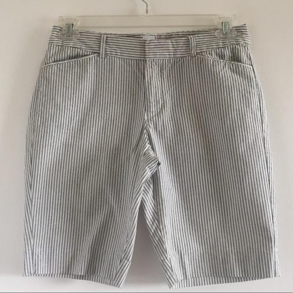 a76a5647d9 GAP Shorts | Striped Bermudaboard Size 6 | Poshmark